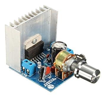 AC//DC 12V TDA7297 Version B Dual-Channel Audio Amplifier Board 15w+15w DIY