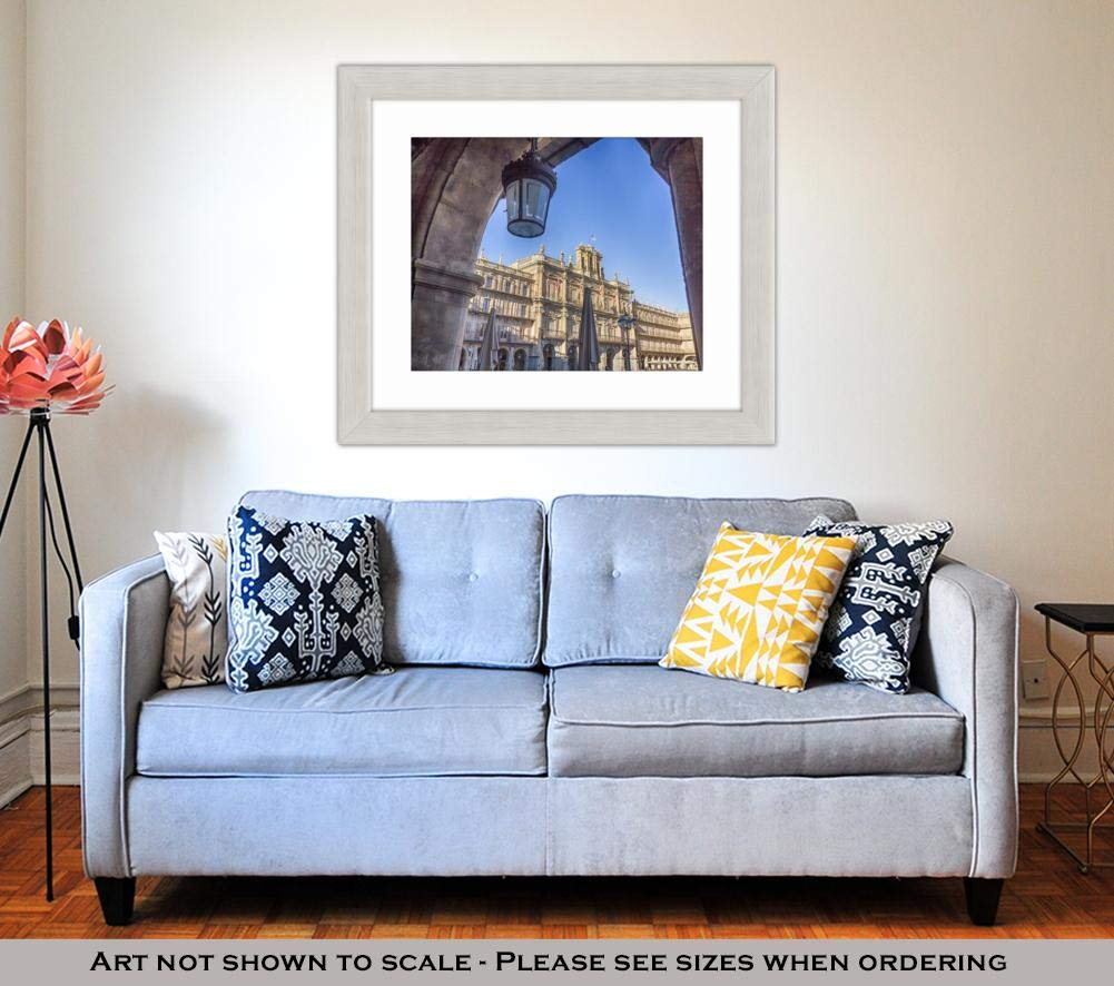 Amazon.com: Ashley Framed Prints Facade of The Famous Plaza ...