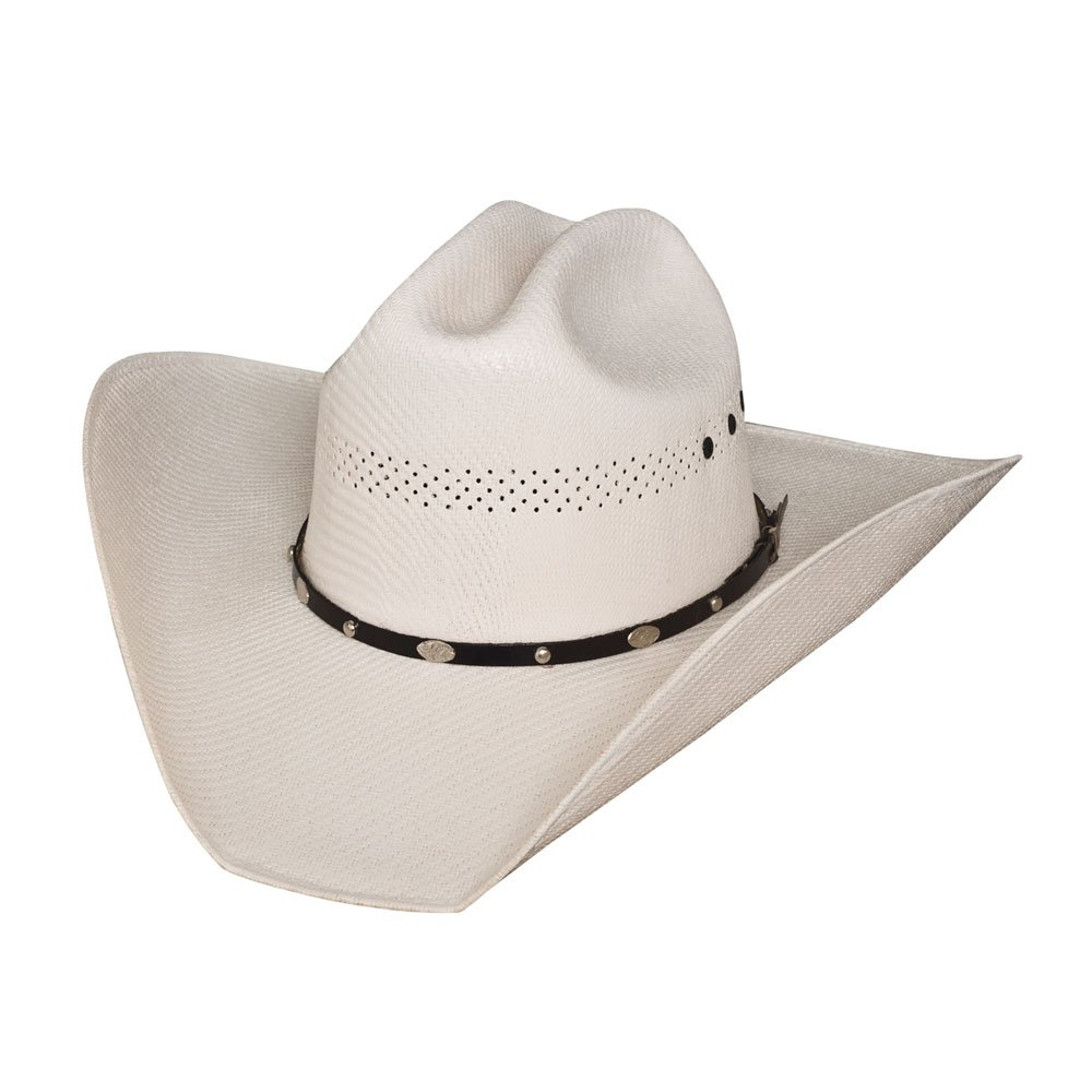 7985a8af92d Amazon.com  Bullhide By Monte Carlo Justin Moore JM Limited Edition - (50X) Straw  Cowboy Hat  Clothing