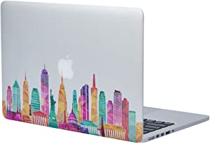 """NDAD Famous Buildings in the United States Removable Vinyl Decal Sticker Skin for Macbook Pro Air Mac 13"""" Laptop"""