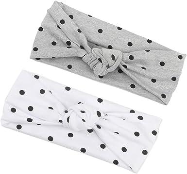 Baby Hair Bow Headbands 12 COLORS Polka Dot Bow Headbands Newborn Bow Headband Polka Dot Newborn Headband