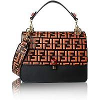 MONFUL Vintage Women Designer Handbag Fashion Shoulder Bag Top Handle Handbag