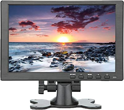 Monitor portátil de 10 Pulgadas HDMI 1920x1080 HD IPS Pantalla Monitor LED de computadora con Estuche de Cuero para PS4 Pro / / Phone (Negro)(Togames-ES): Amazon.es: Electrónica