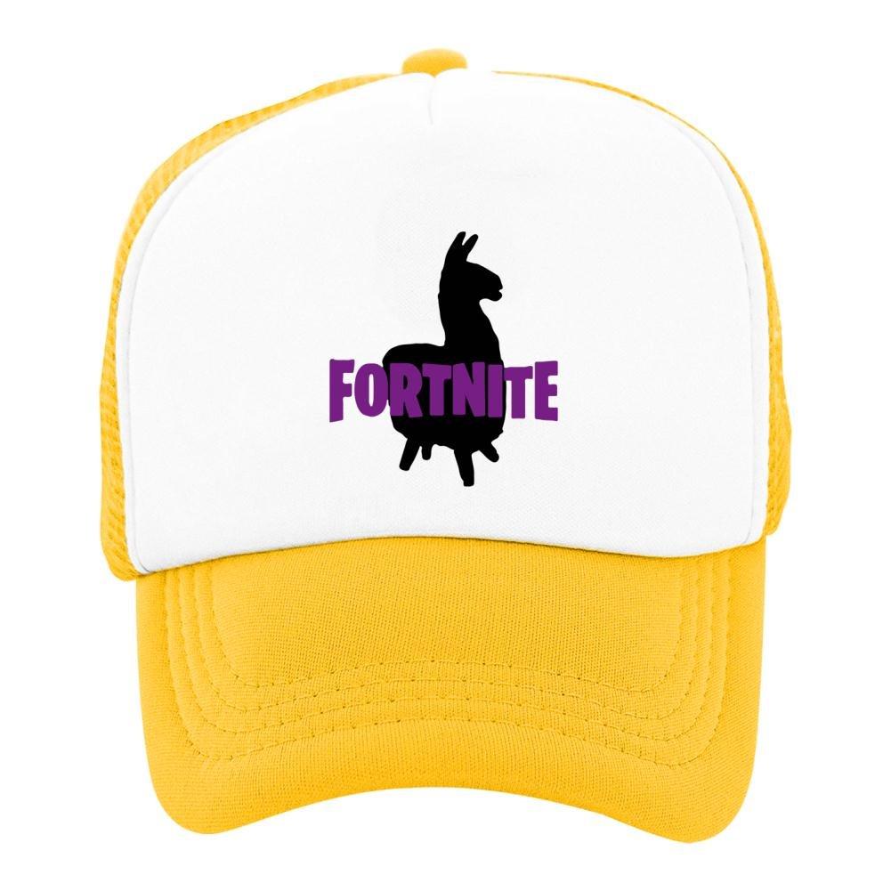 Kids Baseball Cap for-tnite Llama Classic Mesh Outdoor Hat