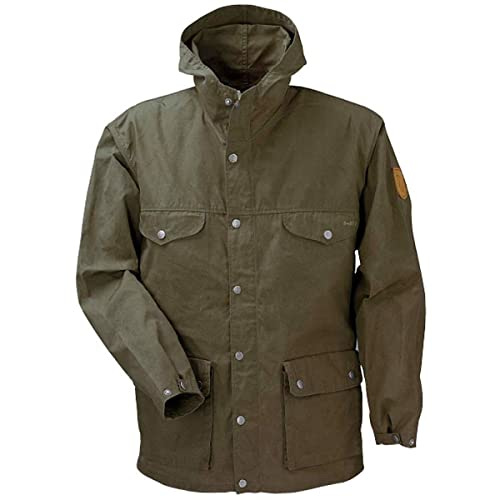 Fjallraven Men's Greenland Jacket, Tarmac, XS