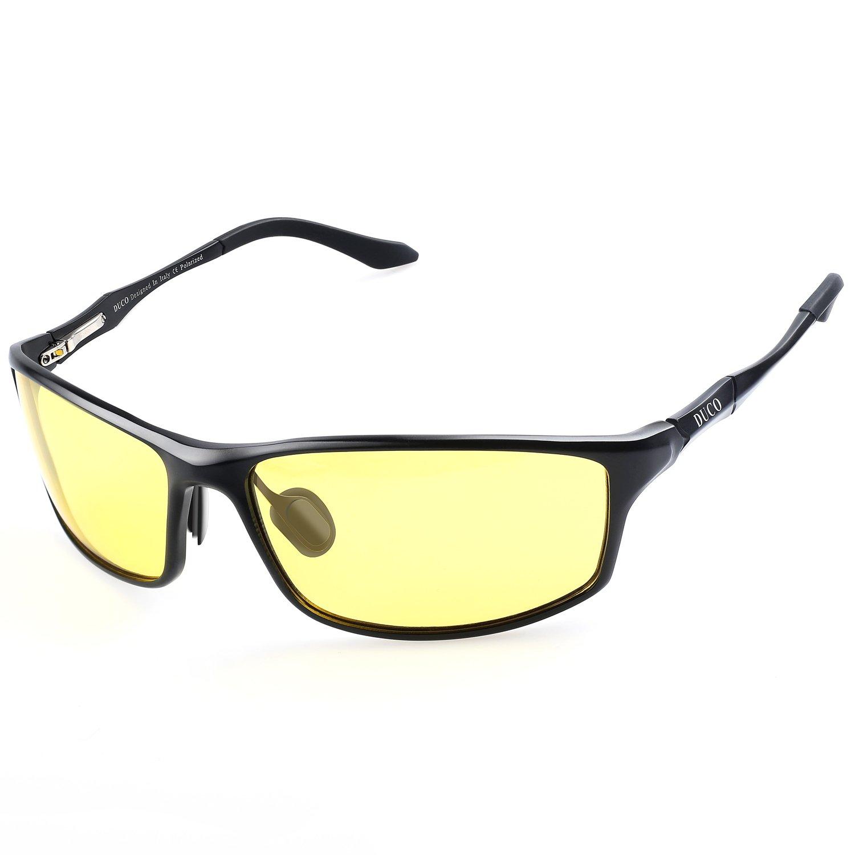 35b1de973daa DUCO Night Vision Glasses for Anti Glare Safe HD Night Driving Glasses 8201