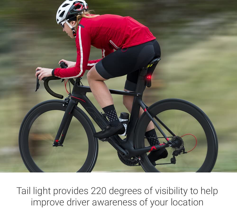 Garmin Varia RTL510 Bike Radar Tail Light and Head Unit Bundle Black