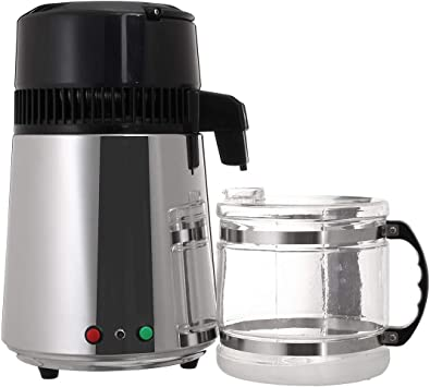 4L 750W con máquina de filtro purificador de destilador de agua ...
