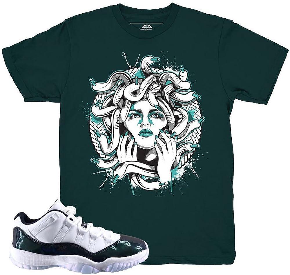 jordan 11 emerald outfit