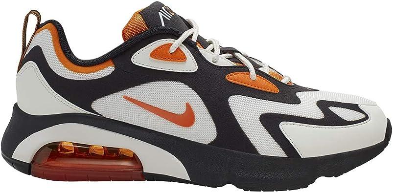 Nike Air MAX 200, Zapatilla De Correr para Hombre, Black ...