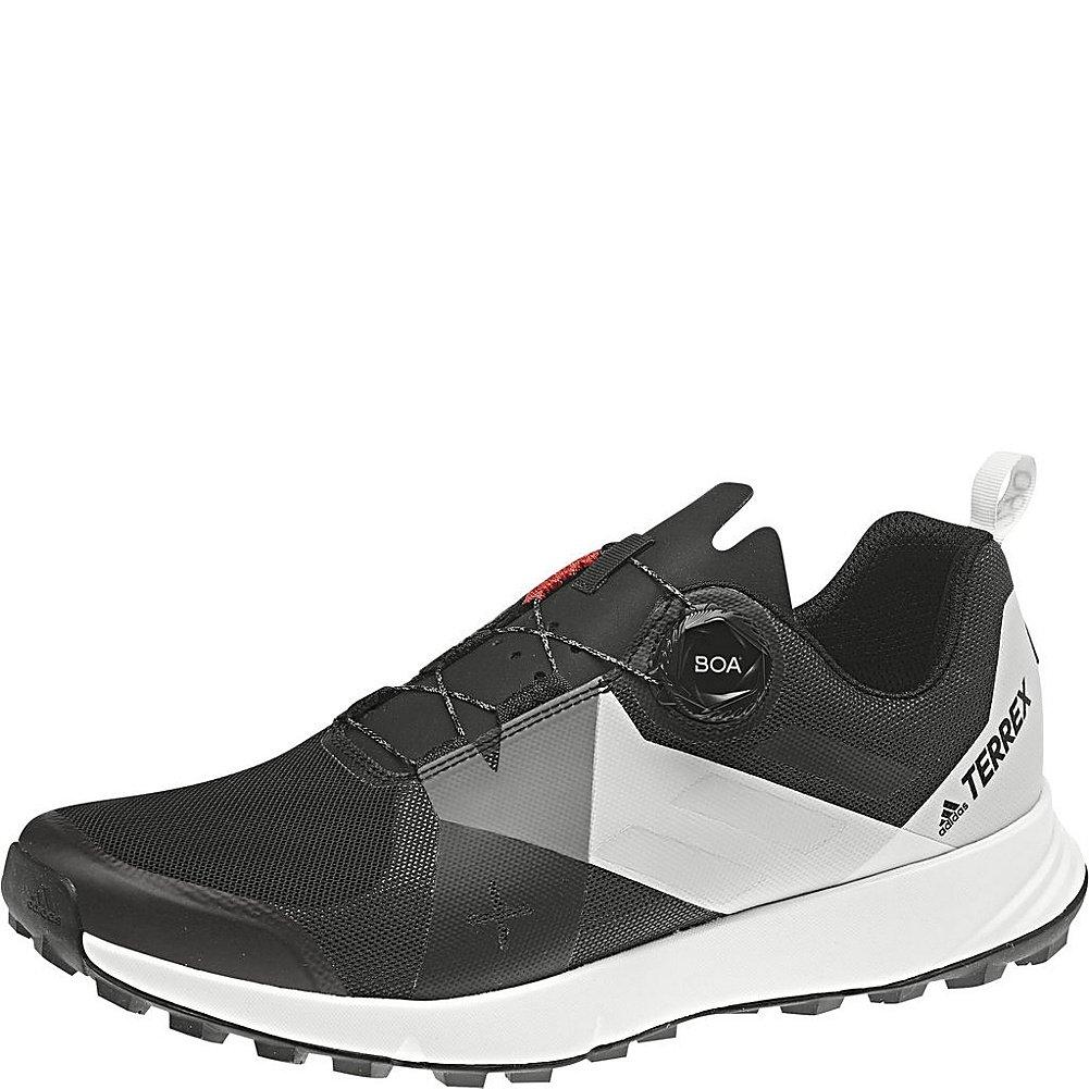 adidas Sport Performance Men's Terrex Two Boa Sneakers B072W82SPW 11.5 D(M) US|Black, Translucent, White