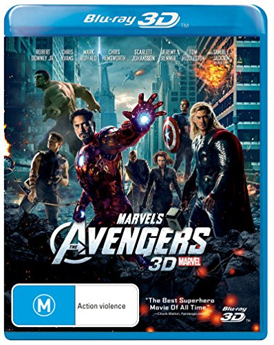 The Avengers [3D Blu-ray] [2012 Marvel Movie] [NON-USA Format / Region B Import - Australia] (Marvels Avengers 3d Blu Ray compare prices)