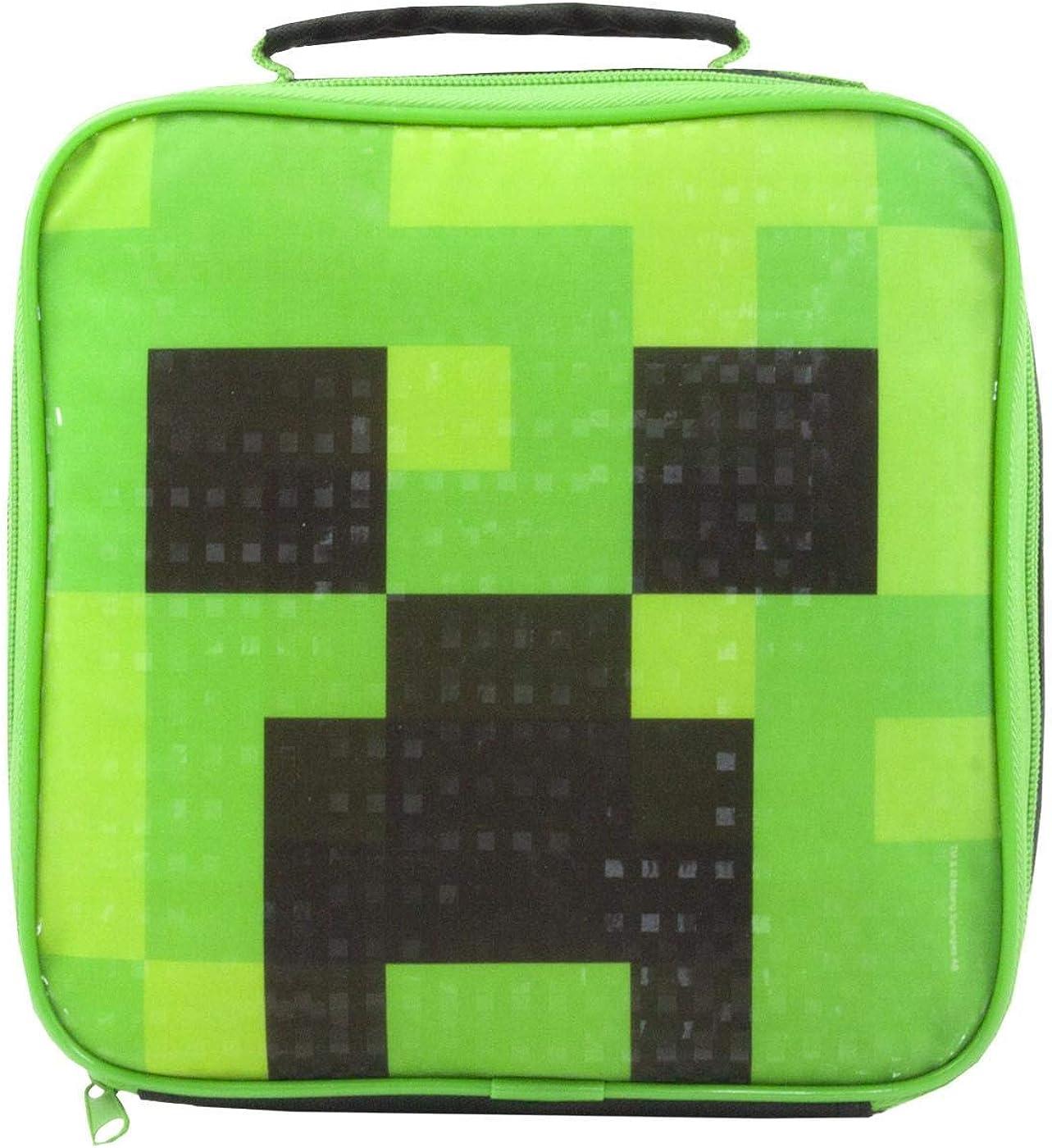 Minecraft Creeper Lunch Bag Lunch Box 11x11x11 cm