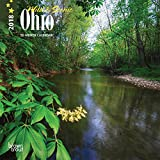 Ohio, Wild & Scenic 2018 7 x 7 Inch Monthly Mini Wall Calendar, USA United States of America Midwest State Nature (Multilingual Edition)