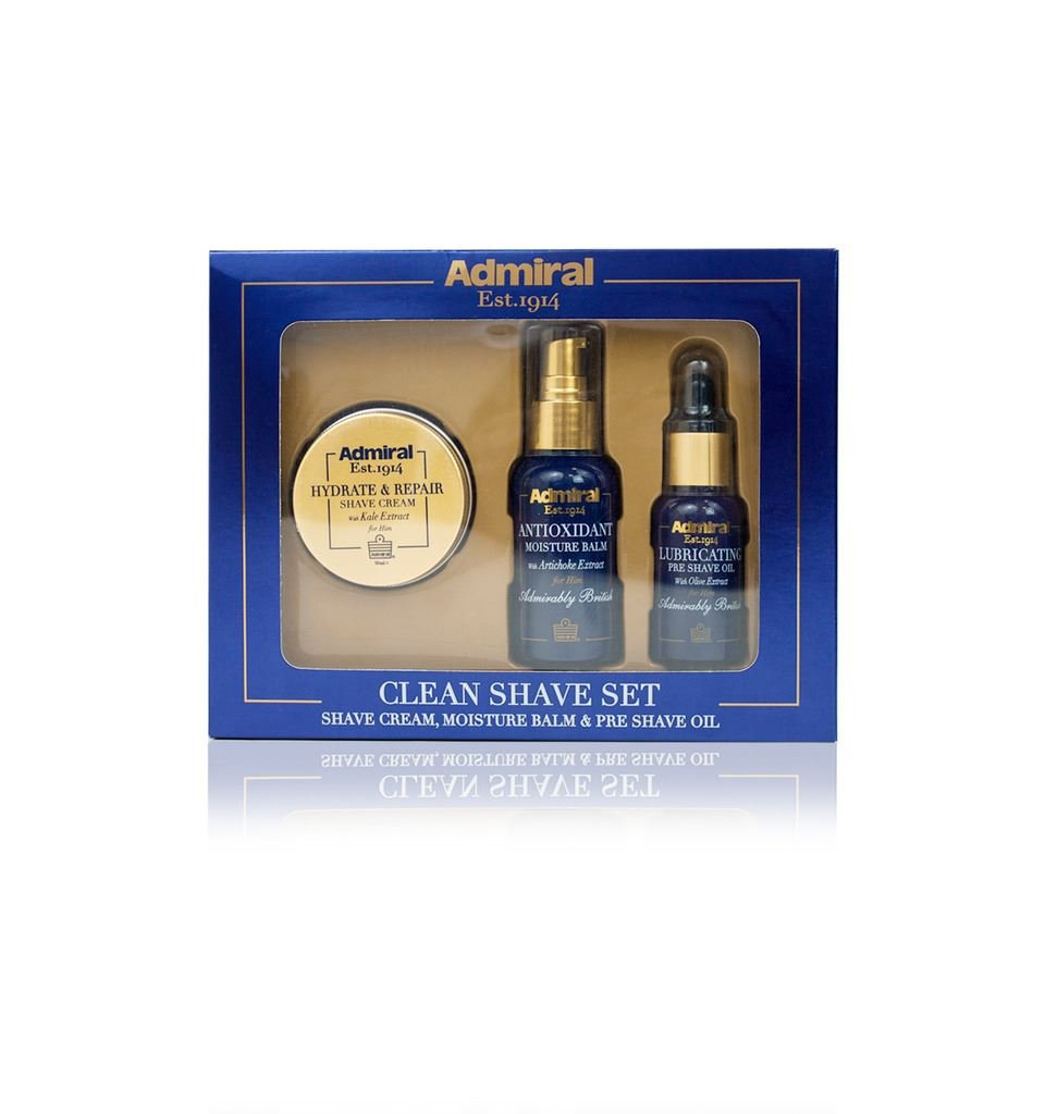 Admiral Clean Shave Gift Set Rosdon Group 0661596533756