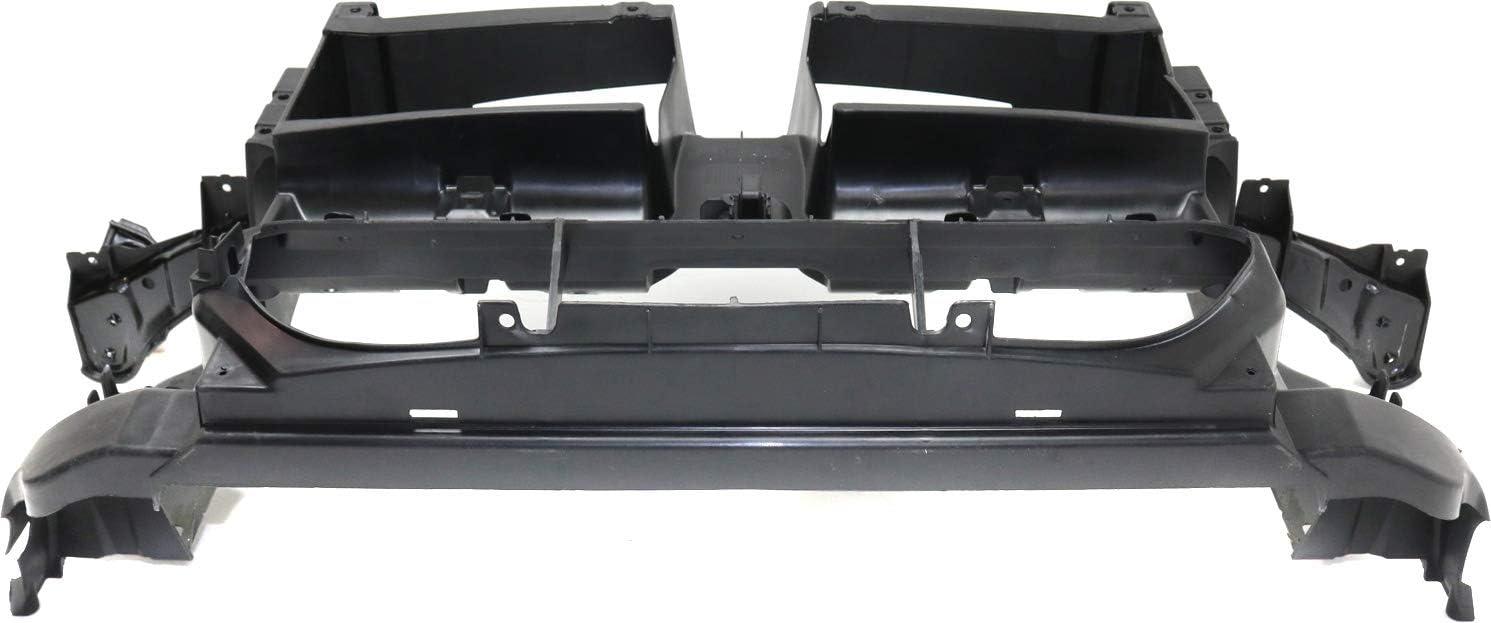 Center Radiator Support For 2012-2015 BMW X1 For M Sport Line Models Primed
