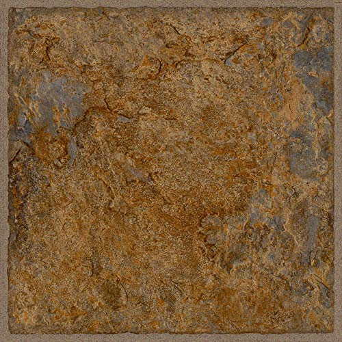 (Allure 12 in. x 36 in. Ashlar Luxury Resilient Vinyl Tile Flooring (24 sq. ft. / case) Durable and highly water-resistant vinyl to add the warm and comfortable style to)