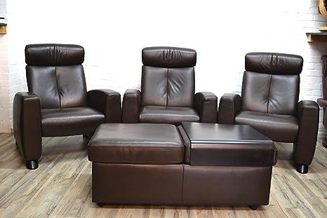 3 x Ekornes resistencia sin sillón Arion con ropa, Home ...