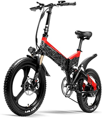 LANKELEISI G650 Folding Electric Mountain Bike
