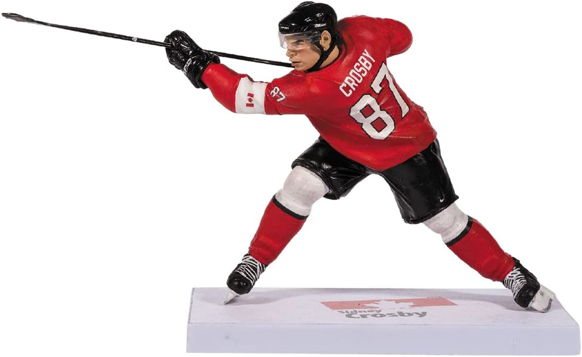 2014 McFarlane Sidney Crosby Team Canada Sochi Olympics Action Figure: Toys & Games