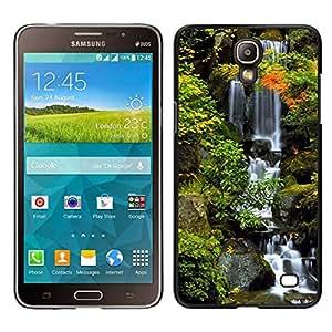 // PHONE CASE GIFT // Duro Estuche protector PC Cáscara Plástico Carcasa Funda Hard Protective Case for Samsung Galaxy Mega 2 / Nature Beautiful Forrest Green 38 /