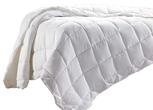Amazon Com Hampton Inn Hotel White Jacquard Duvet Cover Insert