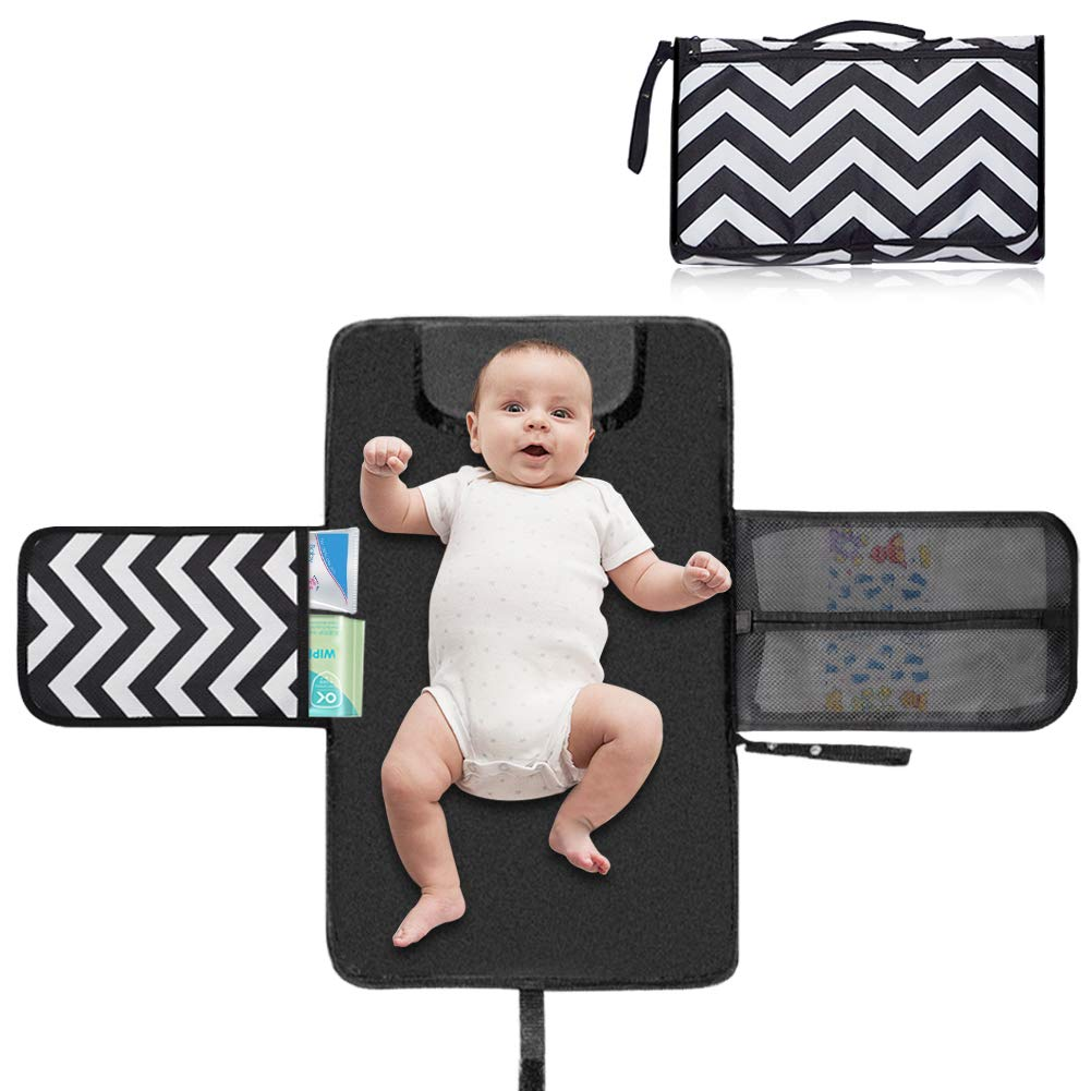 The Portable Diaper Changing Pad travel product recommended by Adil sadout on Lifney.