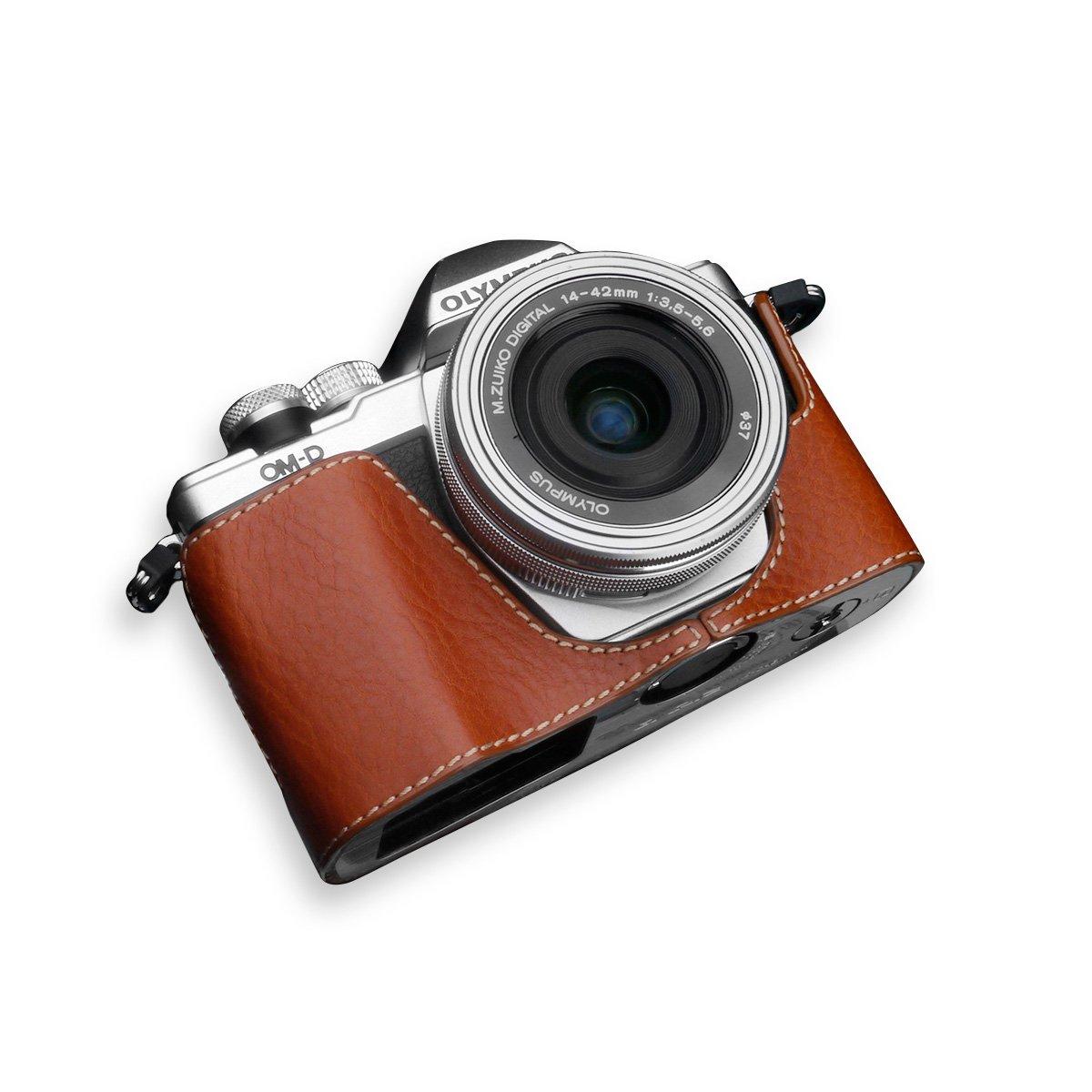 GARIZ OLYMPUS OM-D E-M10 Mark2用 本革カメラケース XS-CHEM10IICM キャメル  キャメル B01D4N079I