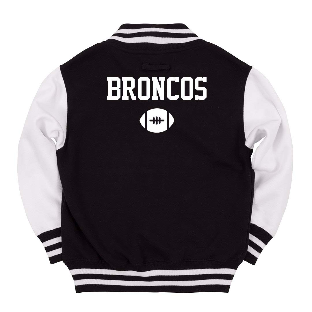 new arrival 40506 f111b Amazon.com: FUNNYSHIRTS.ORG Broncos Kids Football Fan: Youth ...
