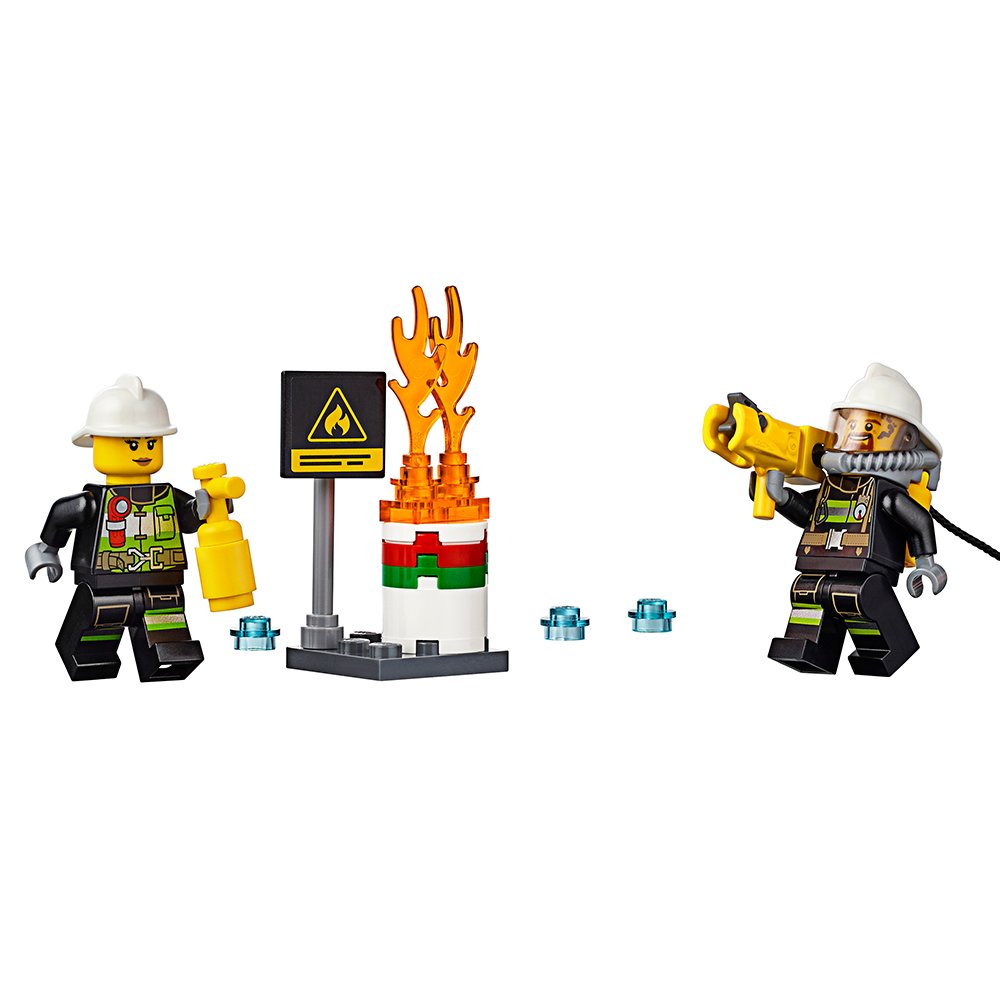 LEGO City Fire Ladder Truck 60107 by LEGO (Image #4)