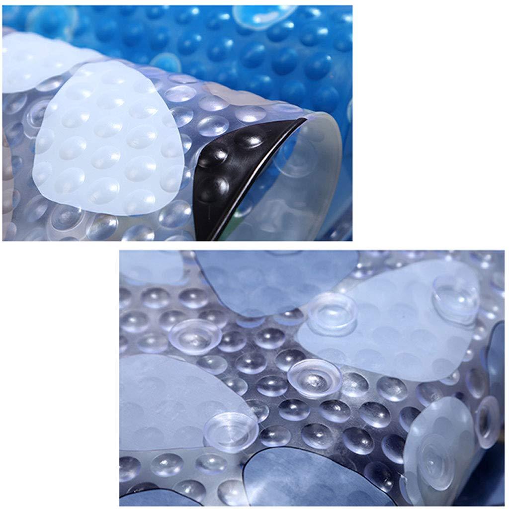 Tapis de salon Tapis de bain transparent anti-d/érapant pour dauphins Home 2 tailles disponibles Pour chambre Size : 38cm*69cm oval