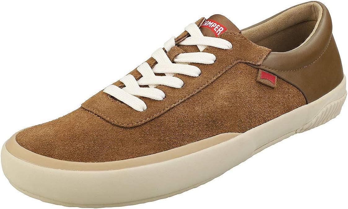 Camper Peu Rambla Rail K100413-005 Mens Gray Mesh Low Top Euro Sneakers Shoes