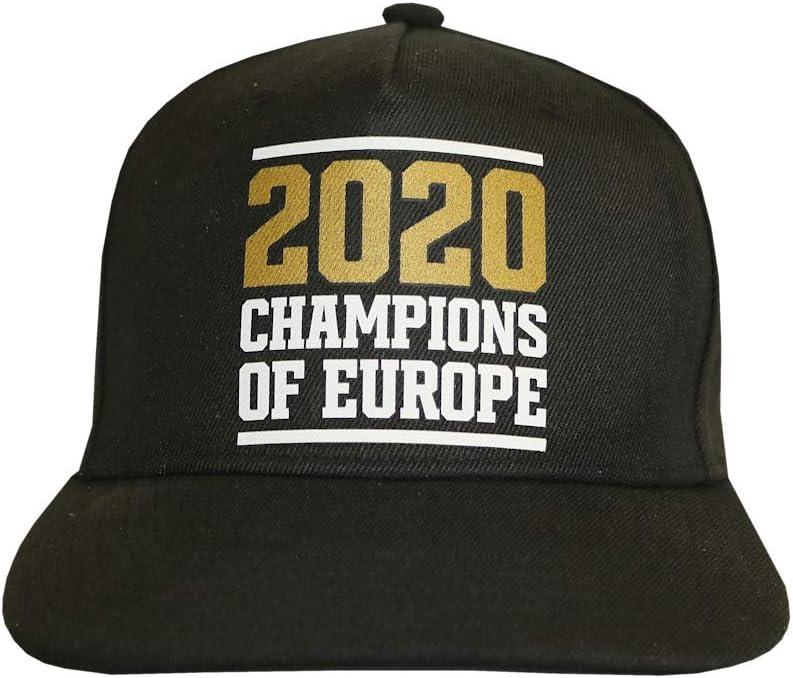 FC Bayern Munich Champions of Europe 2020 Cap Black