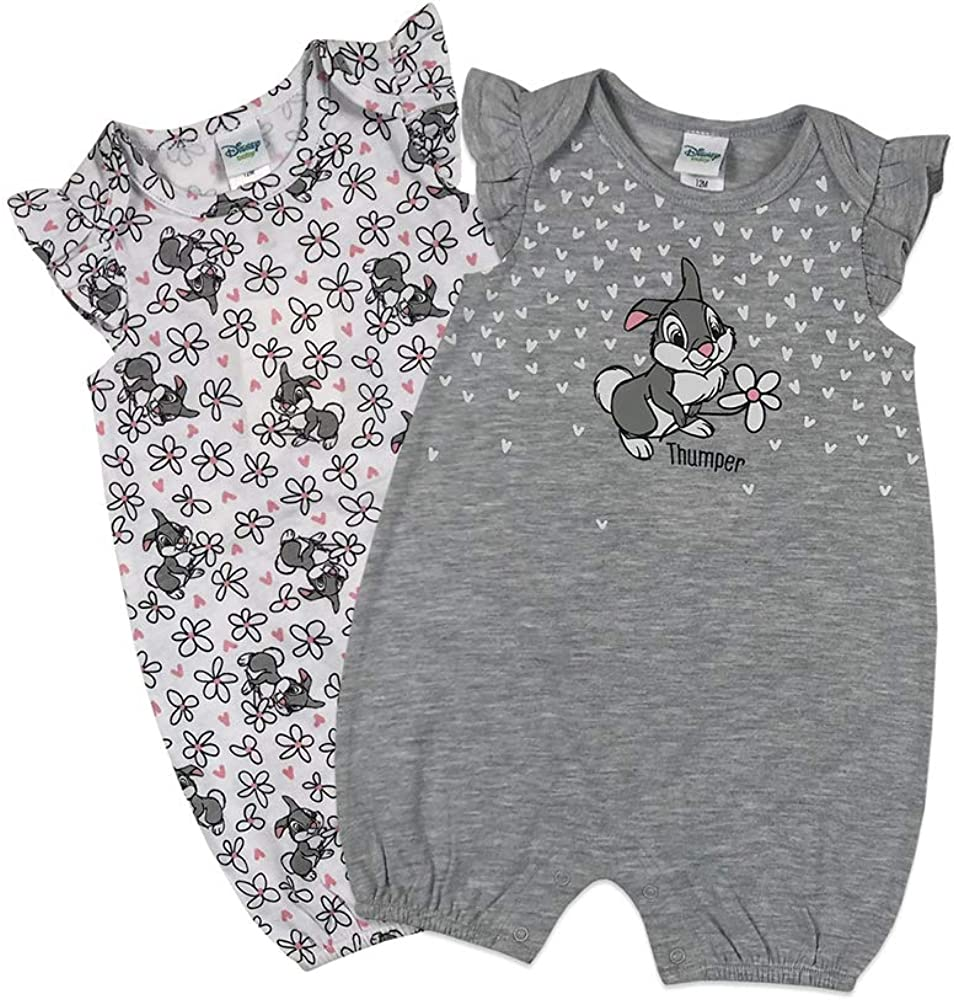 Disney Baby Girls Thumper 2Pack Rompers Pants