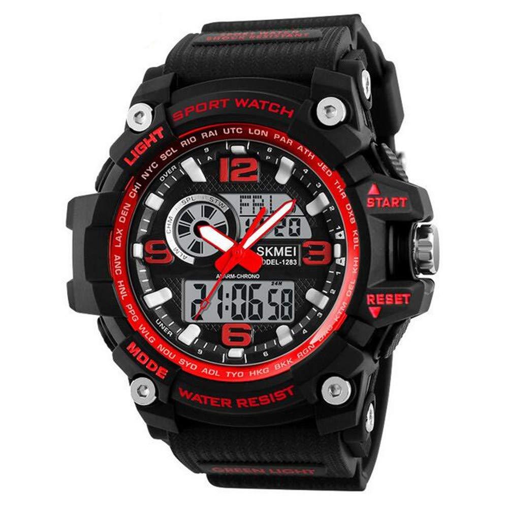 Outdoor Sports Watch/Fashion Trend Electronic Watch/Shockproof Anti-Fall Luminous Waterproof Children's Personalized Watch