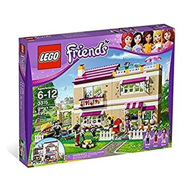LEGO Friends Girls Olivia's Play House w/ Three Mini Doll Figures | 3315: Toys & Games