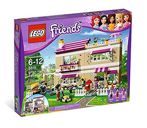 LEGO® Friends Girls Olivia's Play House w/ Three Mini Doll Figures | 3315