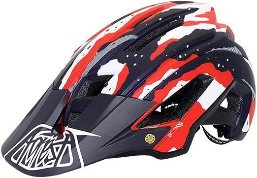 Casco de bicicleta de montaña Bicicleta de montaña Casco de ...