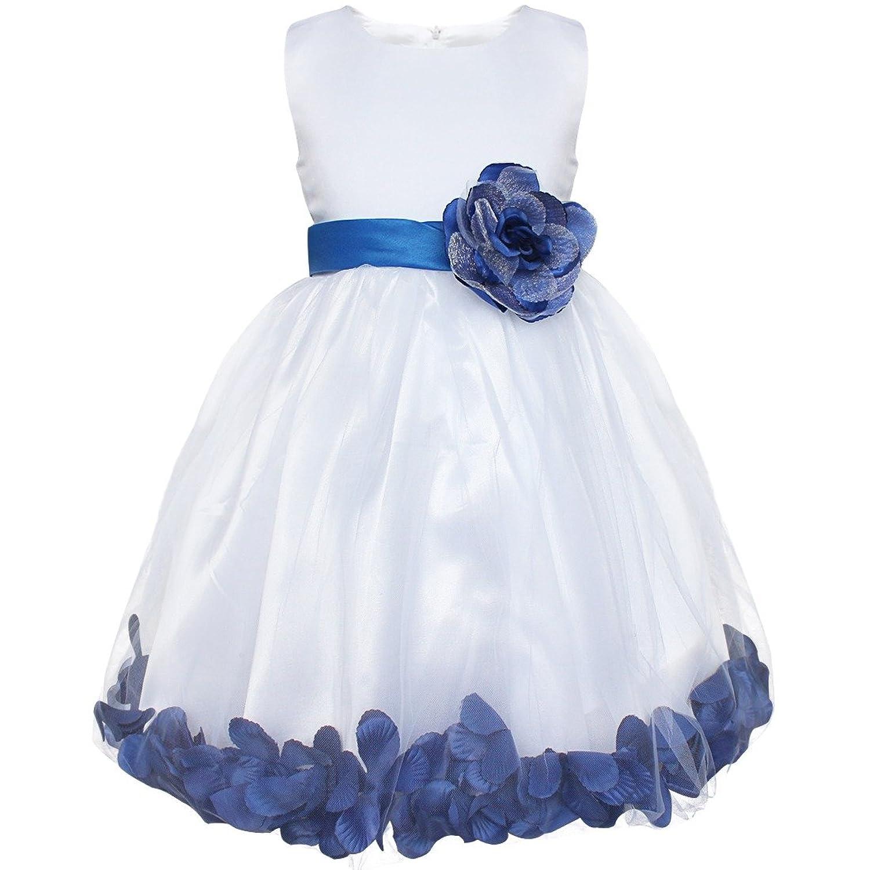 iEFiEL Girls Kids Flower Petal Wedding Party Bridesmaid Formal