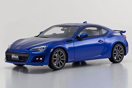 Kyosho Subaru BRZ GT, Blue KSR18027BL   1/18 Scale Collectible Resin Model  Car