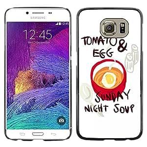 Dragon Case - FOR Samsung Galaxy S6 - we thought of writing - Caja protectora de pl??stico duro de la cubierta Dise?¡Ào Slim Fit