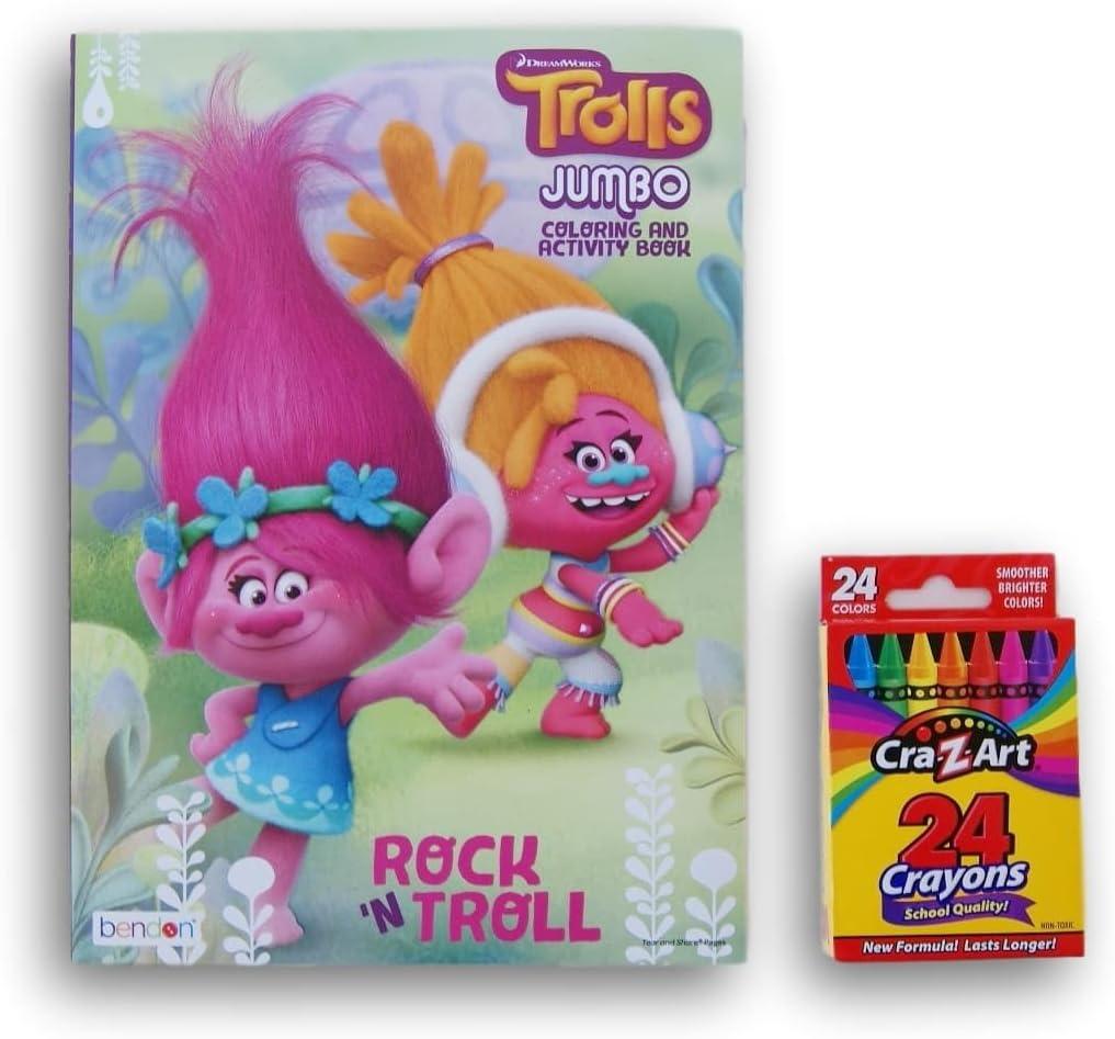 """NEW ROCK N/' TROLL SKATEBOARD BOY 3 1//2/"""" Toys N/' Things Troll Doll"""