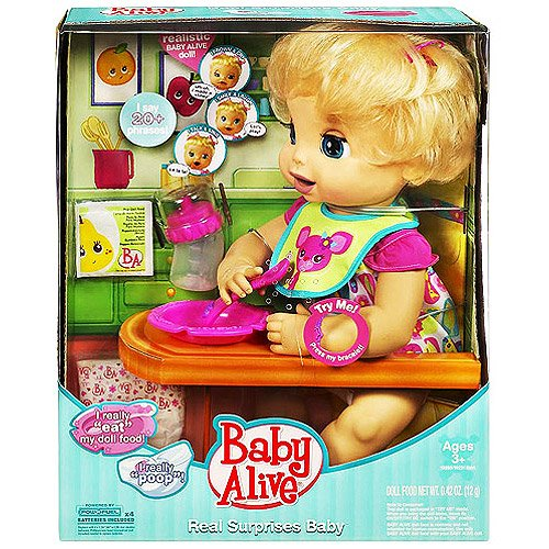 Baby Alive Caucasion Doll Amazoncouk Toys Games