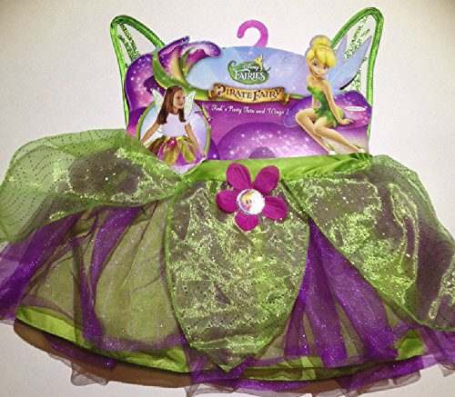 Disney Fairies Tink's Party Tutu and Wings Children Girl's Costume -