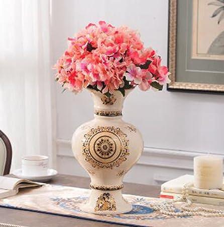 European Style Household Ice Crack Ceramic Vase Accessories Creative