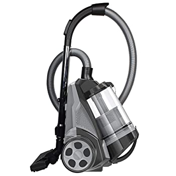 Ovente ST2620B Bagless Vacuum