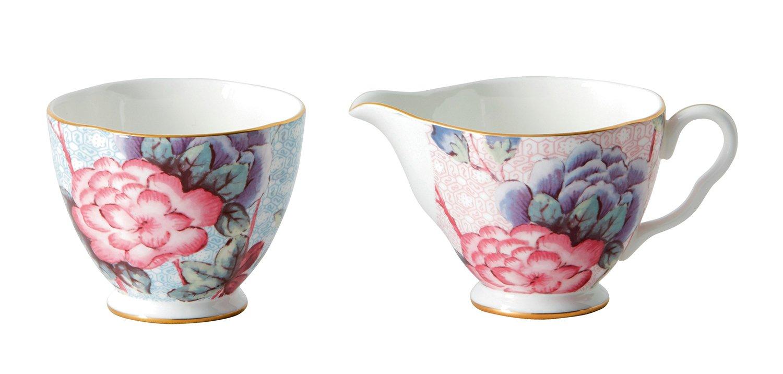 Wedgwood Cuckoo Tea Story Sugar and Creamer Set, Large