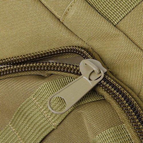 SODIAL (R) 35L zaino da viaggio militare campeggio borsa escursioni alpinismo