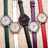 Burgi Swarovski Crystal Accented Women's Watch