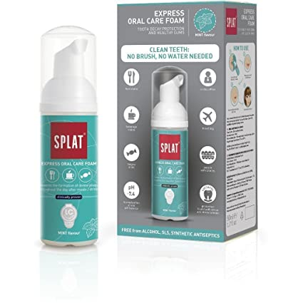 SPLAT - ORAL CARE FOAM 2 EN 1 - Espuma dental: Amazon.es: Salud y ...